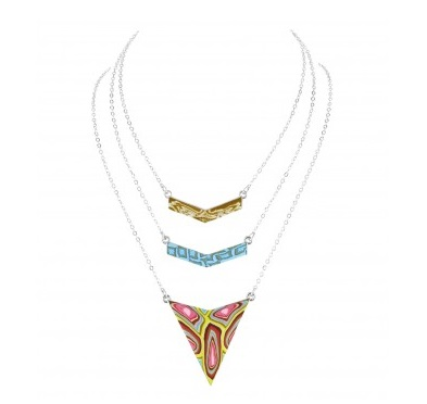 "Jilzarah� Trinity Necklace - ""South Beach"""