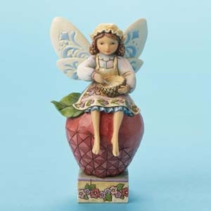 "Jim Shore Figurine - ""Cooking Fairy"""