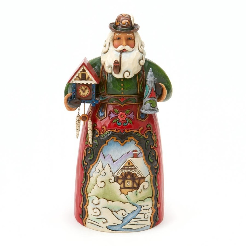 "Jim Shore Figurine - ""German Santa"""
