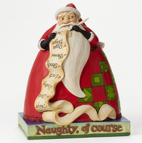 "Jim Shore Figurine - ""Sandy Claus - The Nightmare Before Christmas"""
