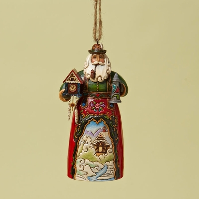 "Jim Shore Figurine - ""German Santa Ornament"""