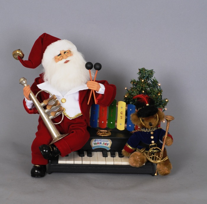 "Karen Didion Santa - ""Lighted Music Santa - Signature Series"""