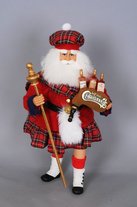 "Karen Didion Santa - ""Scottish Santa"""