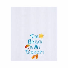 "Kitchen Towel - ""Beach Therapy"""