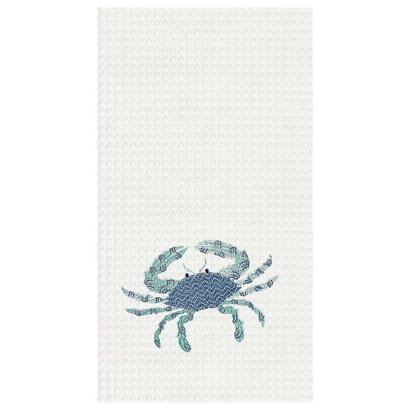 Kitchen Towel - Blue Crab - 27in