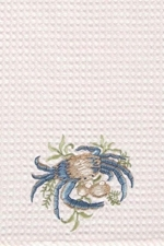 "Kitchen Towel - ""Blue Crab"""