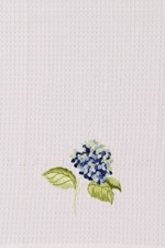 "Kitchen Towel - ""Hydrangea Kitchen Towel"""