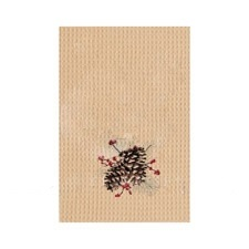"Kitchen Towel - ""Woodland Pinecones Kitchen Towel"