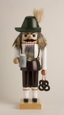 "KWO Authentic German Nutcracker - ""Bavarian Nutcracker"""