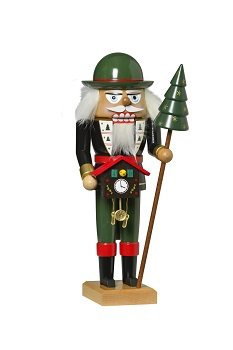 KWO Authentic German Nutcracker - Black Forest Nutcracker