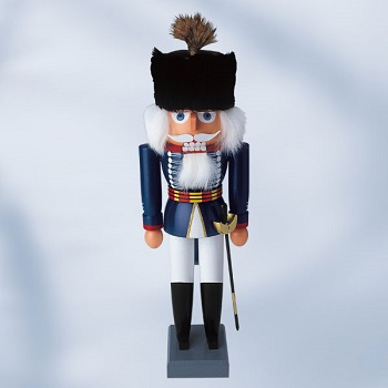 "KWO Authentic German Nutcracker - ""British Hussar Nutcracker"""