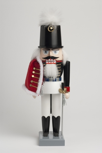 "KWO Authentic German Nutcracker - ""Christmas Nutcracker Hussar"""