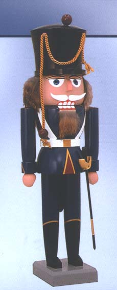 "KWO Authentic German Nutcracker - ""Dutch Calvary Sargeant Nutcracker"""