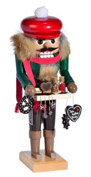 KWO Authentic German Nutcracker - Gingerbread Selling Nutcracker