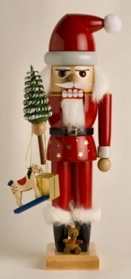 "KWO Authentic German Nutcracker  - ""Santa Claus Nutcracker"""
