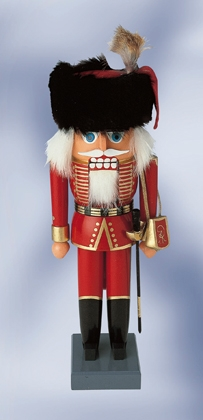 "KWO Authentic German Nutcracker  - ""Schill S Hussar Nutcracker"""