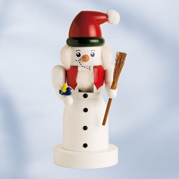 "KWO Authentic German Nutcracker - ""Snowman Nutcracker"""
