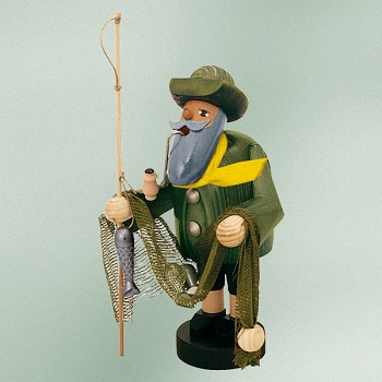 "KWO Authentic German Smoker - ""Fisherman Smoker Man"""
