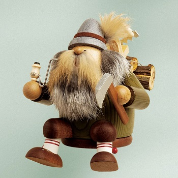 KWO Authentic German Smoker Man - Lumberjack Smoker Man