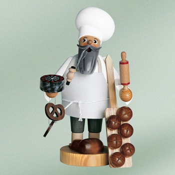 "KWO Authentic German Smoker Man - ""Baker Smoker Man"""