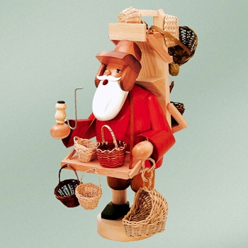 "KWO Authentic German Smoker Man - ""Basket Trader Smoker Man"""