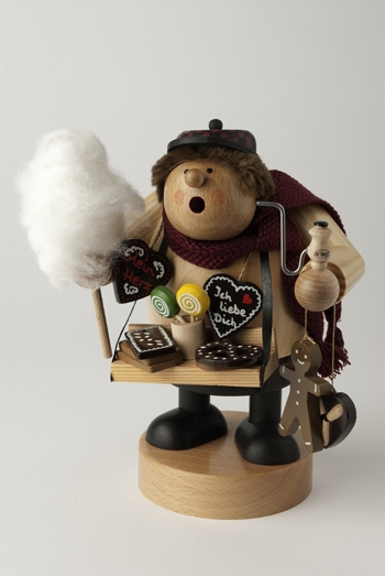 "KWO Authentic German Smoker Man - ""Gingerbread Seller Smoker Man"""