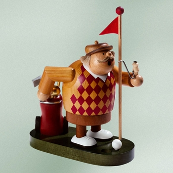 "KWO Authentic German Smoker Man - ""Golfer Smoker Man"""
