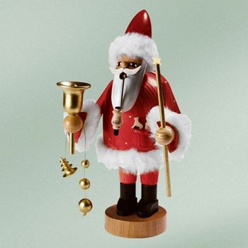 KWO Authentic German Smoker Man - Santa Claus Smoker Man