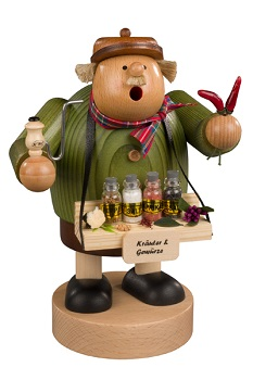 "KWO Authentic German Smoker - ""Spice Trader Smoker Man"""