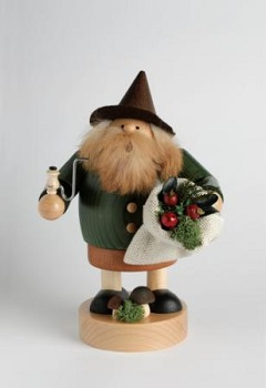 KWO Authentic German Smoker Man - Wood Gnome Smoker Man