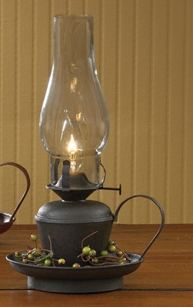 Park Designs Lamp - Electric Oil Lamp