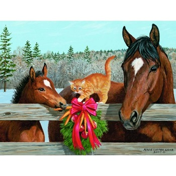 "Lang Boxed Christmas Cards - ""Holiday Treats"" - Artist Persis Clayton Weirs"