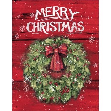 "Lang Boxed Christmas Cards - ""Merry Christmas"" - Artist Susan Winget"