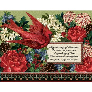 "Lang Boxed Christmas Cards - ""Songs of Christmas"" - Artist Barbara Anderson"