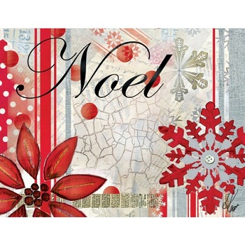 "Lang Boxed Christmas Cards - ""Winter Holiday"" - Artist  Lisa Kaus"