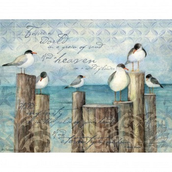 Lang Boxed Notecards - Coastal Breeze - Artist Susan Winget