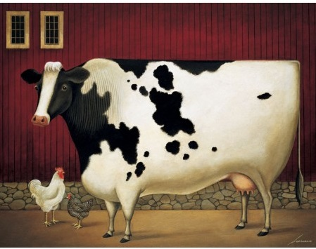 "Lang Boxed Notecards - ""On The Farm"" - Artist Lowell Herrero"