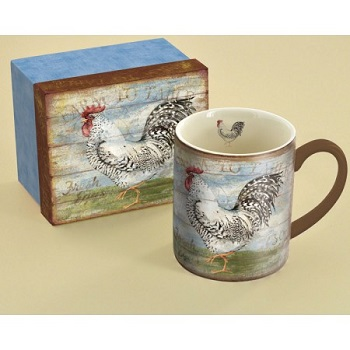 "Lang & Wise Mug - ""Farm to Table "" - Artist Susan Winget"