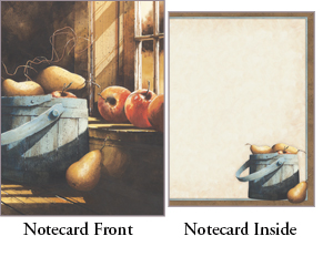 """Legacy Boxed Notecards - """"Morning Light"""""""