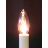 Candle Light Bulb - Torpedo Bulb - 7 Watt 130 Volt