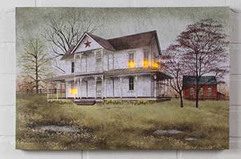 """Lighted Canvas Pictures - """"April Showers"""""""
