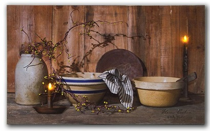 """Lighted Canvas Pictures - """"Home Cooking"""""""