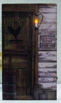 "Lighted Canvas Pictures - ""On The Farm"""