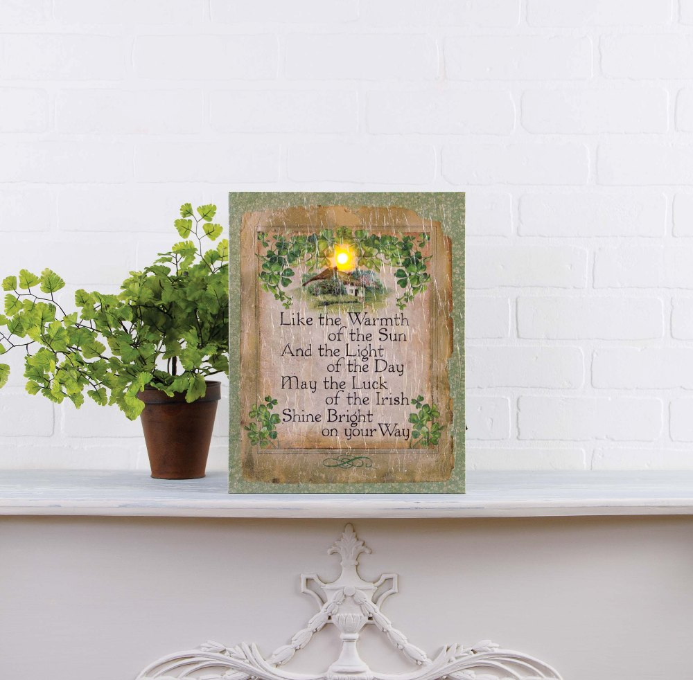 "Lighted Canvas Pictures - ""Shine Bright"""
