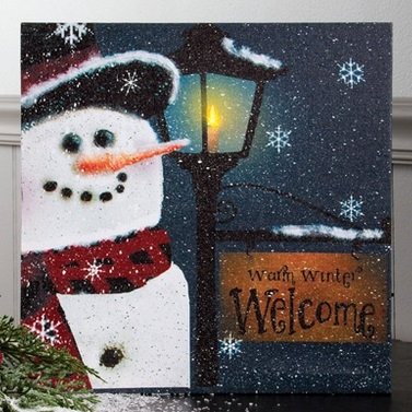 "Lighted Canvas Pictures - ""Snobusiness"""