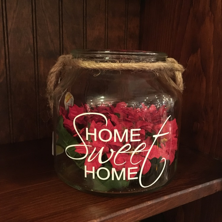 "Message Jar - ""Home Sweet Home"" - 6"""