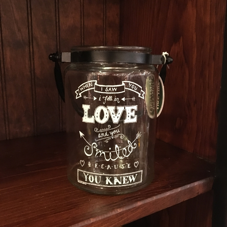 """Message Jar - """"When I Saw You..."""" - 5.75"""""""