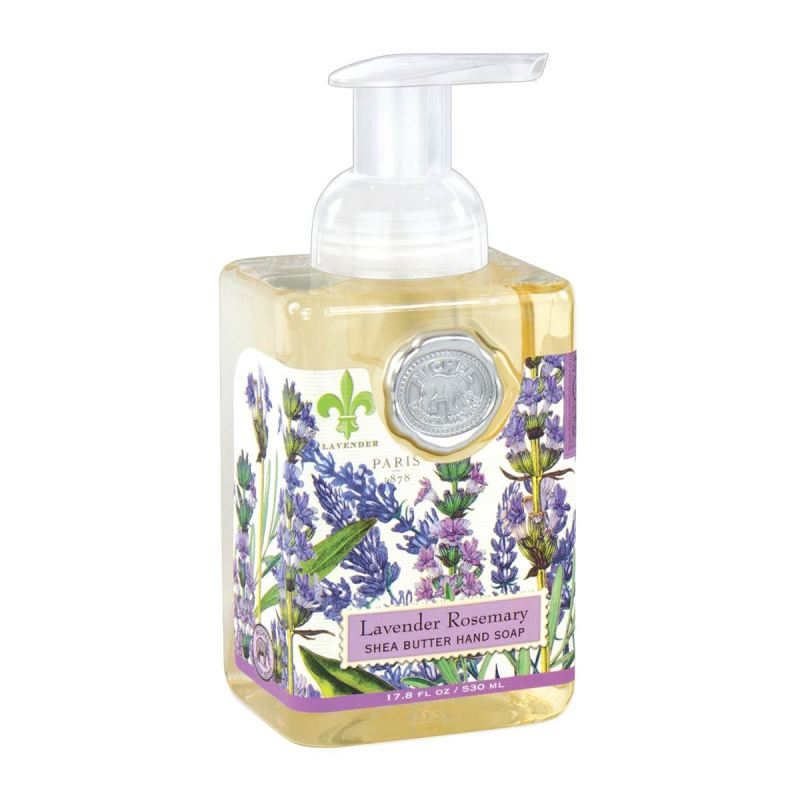 "Michel Design Hand Soap - ""Lavender Rosemary Foaming Hand Soap"""