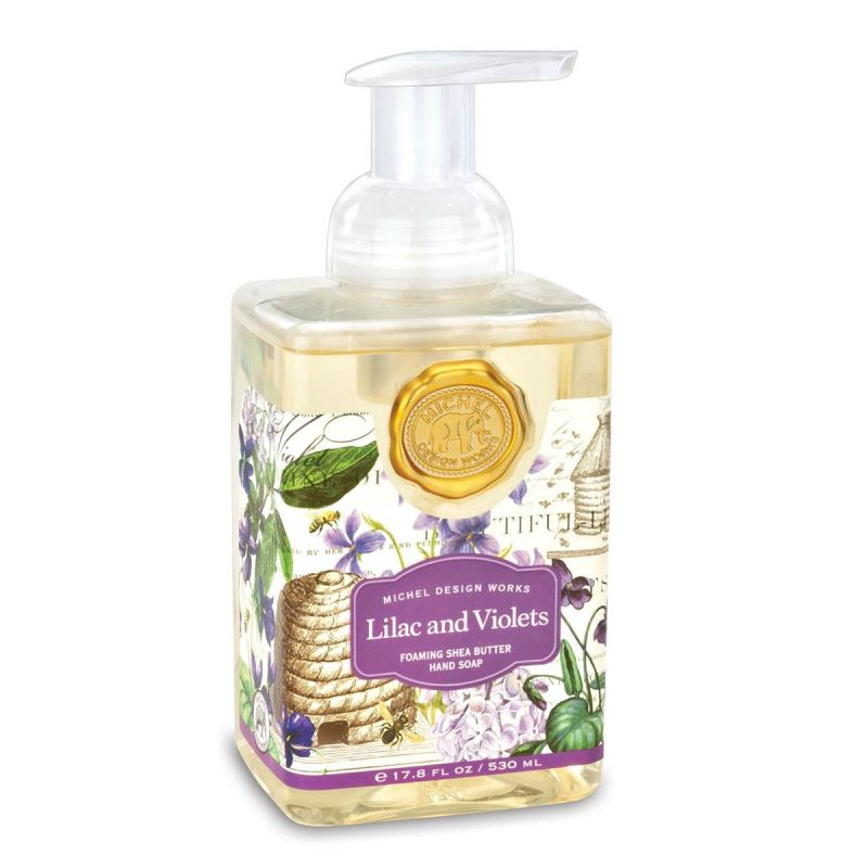 """Michel Design Hand Soap - """"Lilac and Violets Foaming Hand Soap"""""""