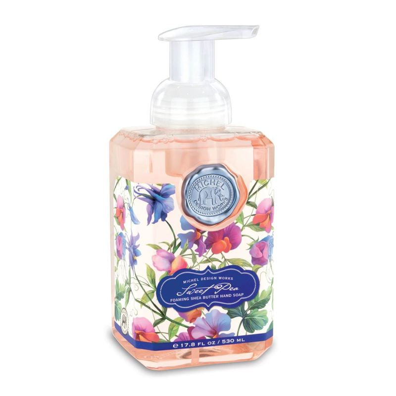 "Michel Design Hand Soap - ""Sweet Pea Foaming Hand Soap"""